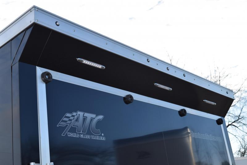 2020 ATC ALL ALUMINUM 8.5x24 RAVEN ENCLOSED CAR HAULER