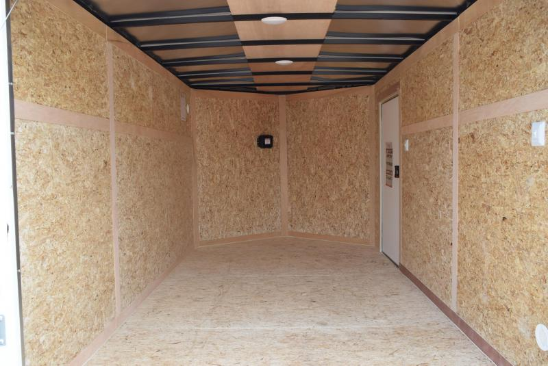 2020 BRAVO 7x12 SCOUT ENCLOSED CARGO TRAILER
