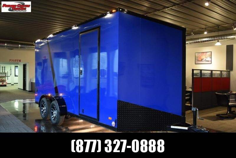 2020 BRAVO 7x16 SCOUT *MIDNIGHT EDITION* ENCLOSED CARGO TRAILER