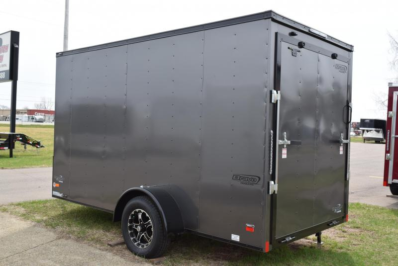 2020 BRAVO 6x12 SCOUT MIDNIGHT EDITION ENCLOSED CARGO TRAILER