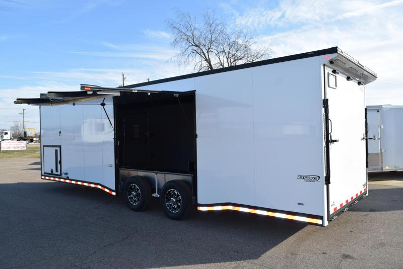 2020 BRAVO 28' STP ENCLOSED RACE TRAILER