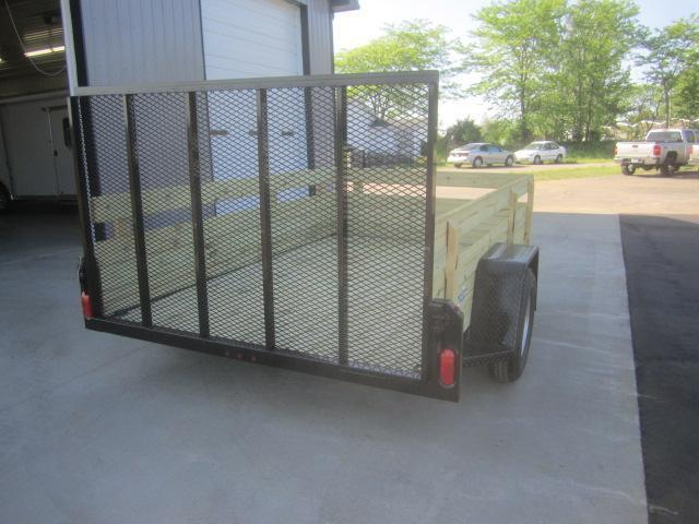 "2020 NATION 6'4""x10' OPEN UTILITY TRAILER w/ REMOVABLE SIDES"