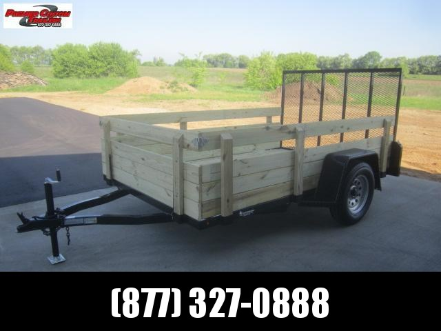 """2020 NATION 6'4""""x10' OPEN UTILITY TRAILER w/ REMOVABLE SIDES"""