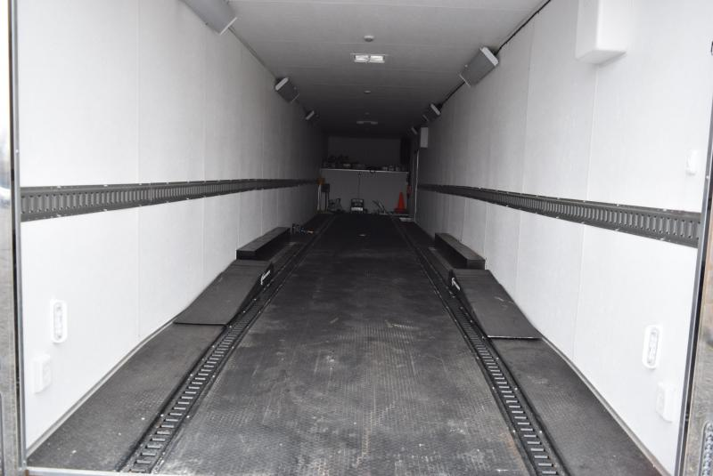 USED 2019 MILLENNIUM 53' GOOSENECK ENCLOSED CAR HAULER
