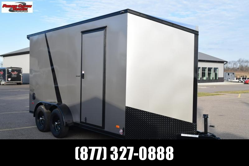 2020 BRAVO 7x14 SCOUT *MIDNIGHT EDITION* ENCLOSED CARGO TRAILER