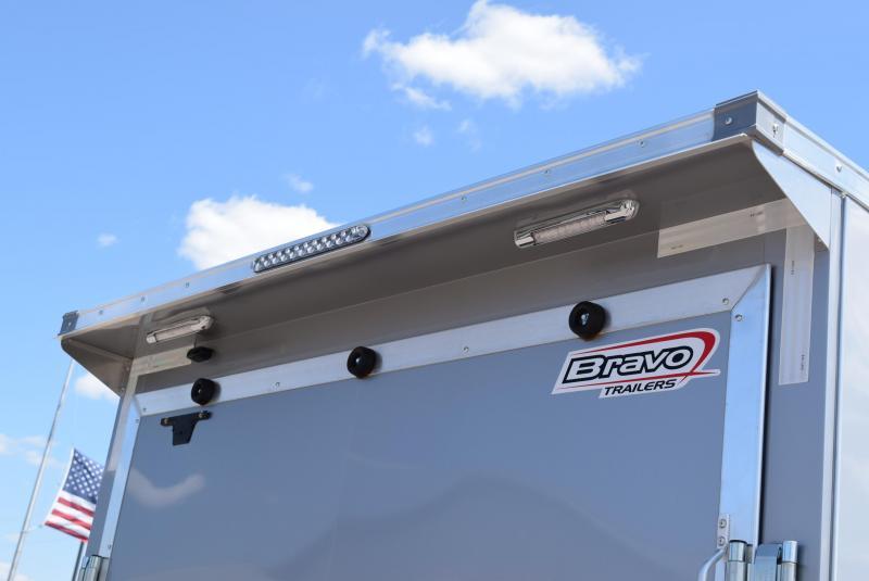 2020 BRAVO SCOUT 7x16 ENCLOSED CARGO TRAILER w/ 5200LB AXLES