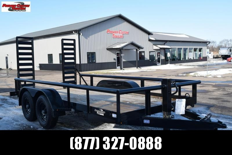 2020 NATION 14' PIPE BOBCAT EQUIPMENT TRAILER