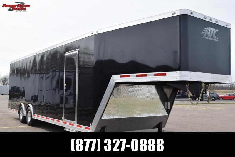 2019 36' GOOSENECK PULLING TRACTOR TRAILER   Custom Enclosed