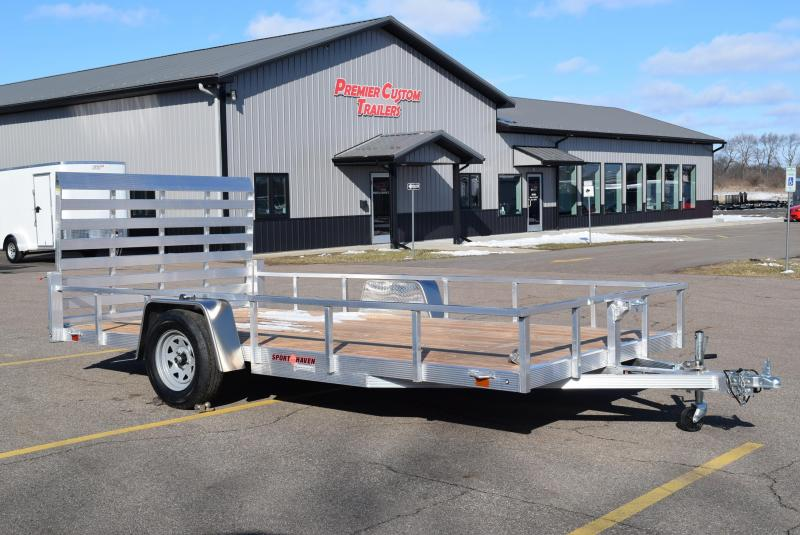 2020 SPORT HAVEN 7x14 OPEN UTILITY TRAILER