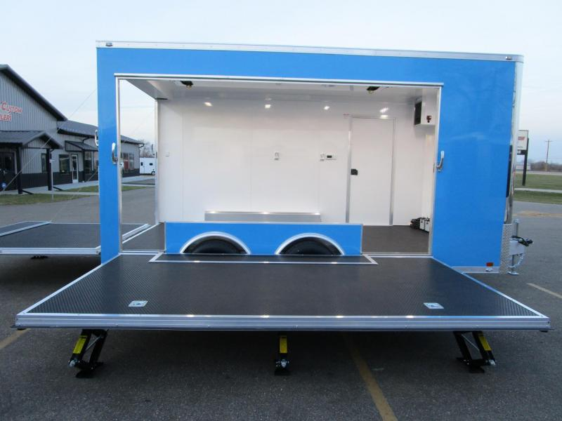 2020 ATC 16' QUEST MOBILE STAGE TRAILER