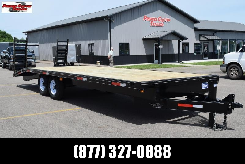 2020 NATION 25' DECKOVER EQUIPMENT TRAILER