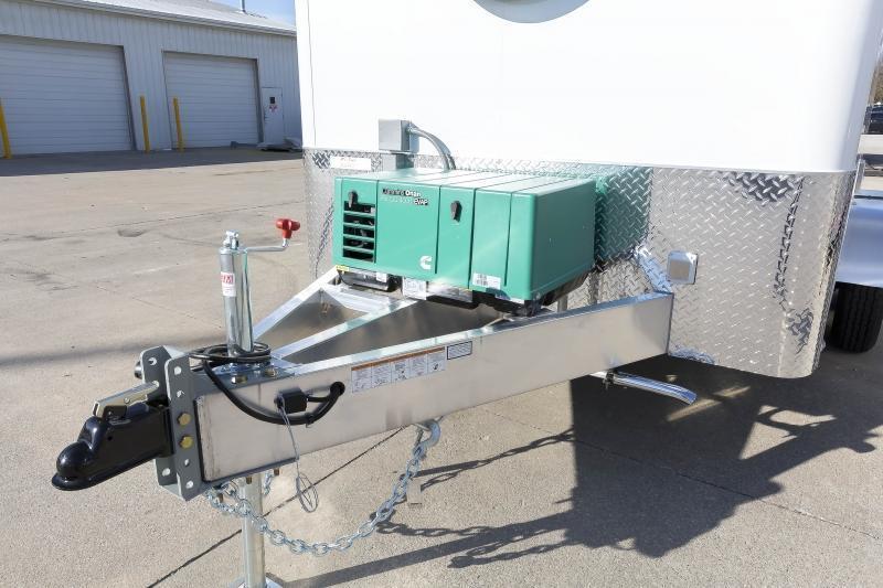 2020 7x12 ATC FIBER OPTIC SPLICING TRAILER w/4.0k GENERATOR