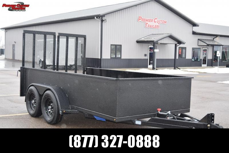 2020 NATION 6x12 SCISSOR LIFT TRAILER w/ BEDLINER EXTERIOR