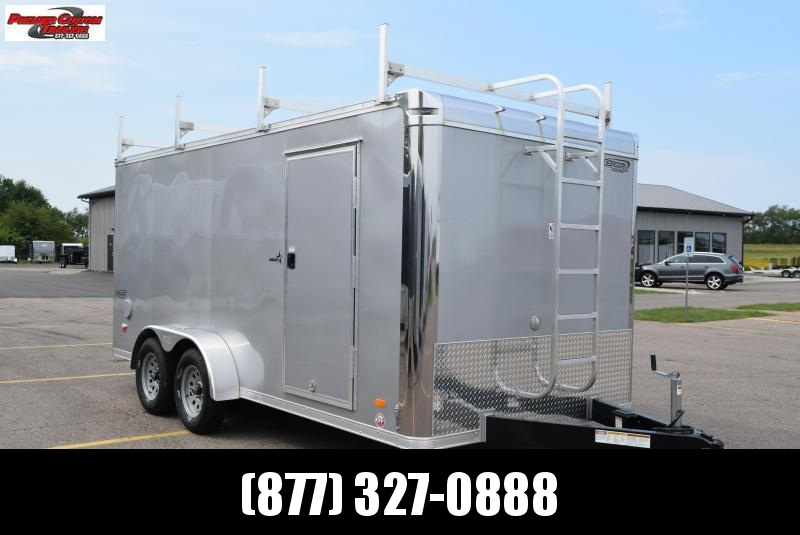 2020 BRAVO 7x16 STAR ENCLOSED CONTRACTOR TRAILER