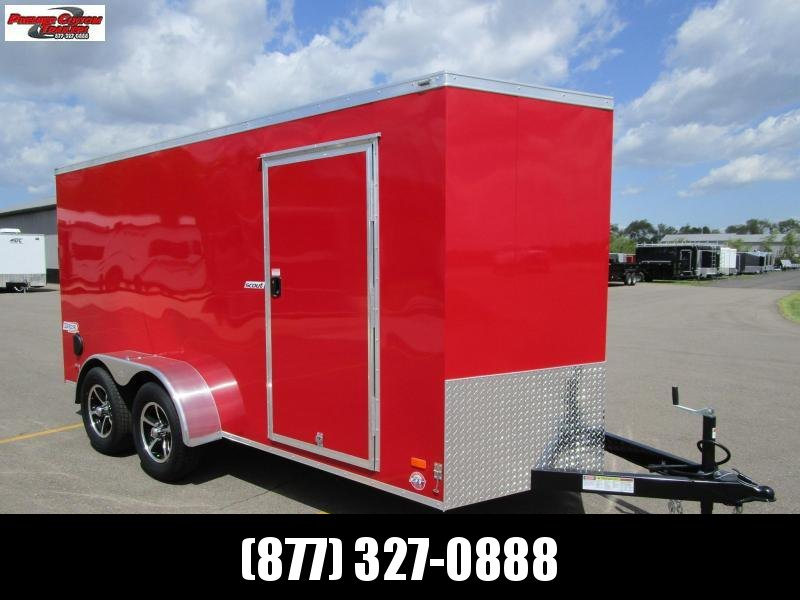 2020 BRAVO SCOUT 6x14 ENCLOSED CARGO TRAILER