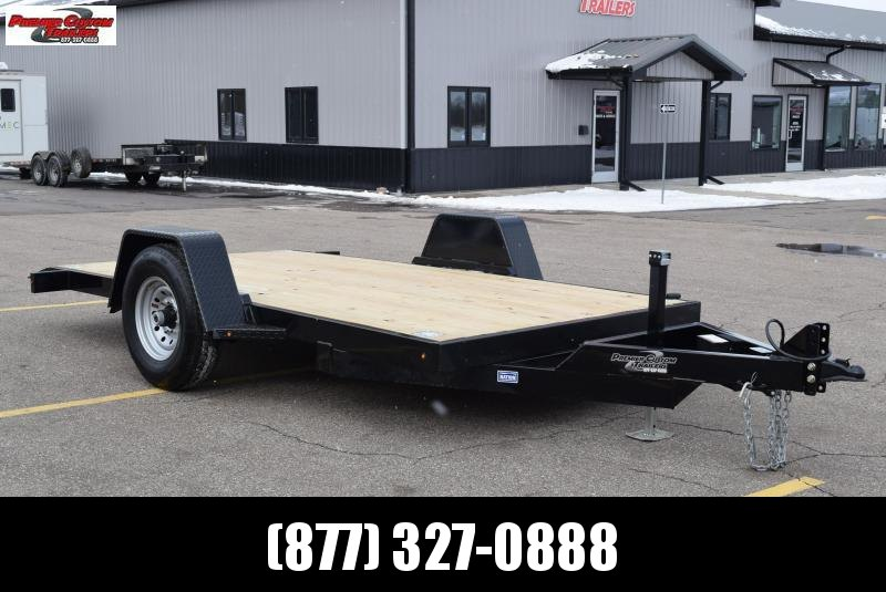 2020 NATION 12' TILT BED EQUIPMENT TRAILER w/ 7K AXLE