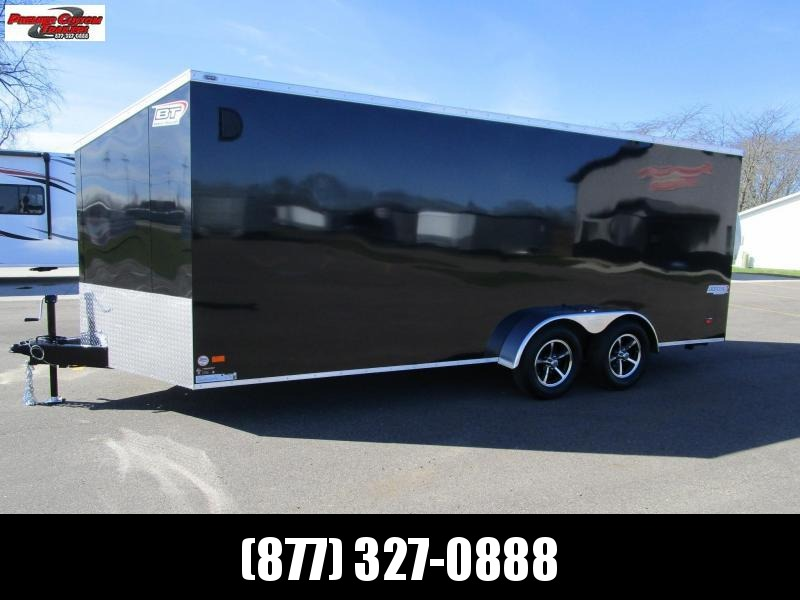 2020 BRAVO 7x18 SCOUT 4 PLACE ENCLOSED MOTORCYCLE TRAILER