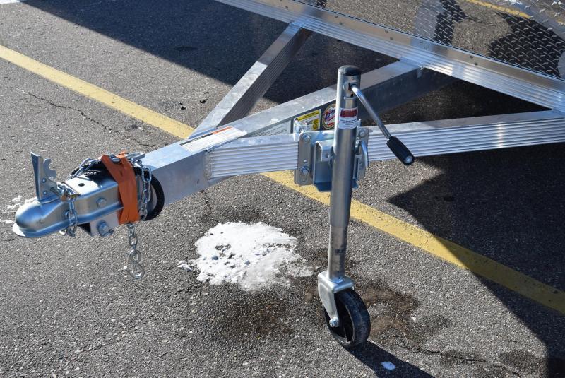2020 SPORT HAVEN 12' HYBRID ENCLOSED SNOWMOBILE TRAILER