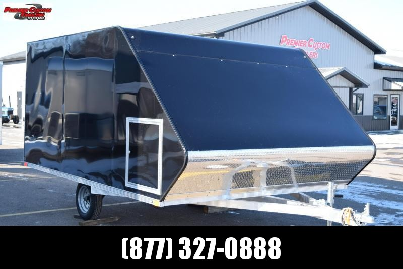 2020 SPORT HAVEN 12' HYBRID ENCLOSED SNOWMOBILE TRAILER