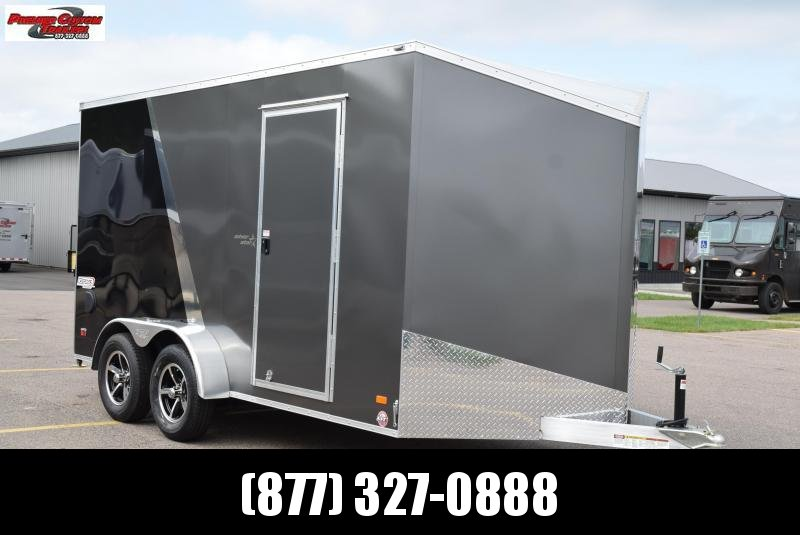 2020 BRAVO 7x14 SILVER STAR ALUMINUM ENCLOSED CARGO TRAILER