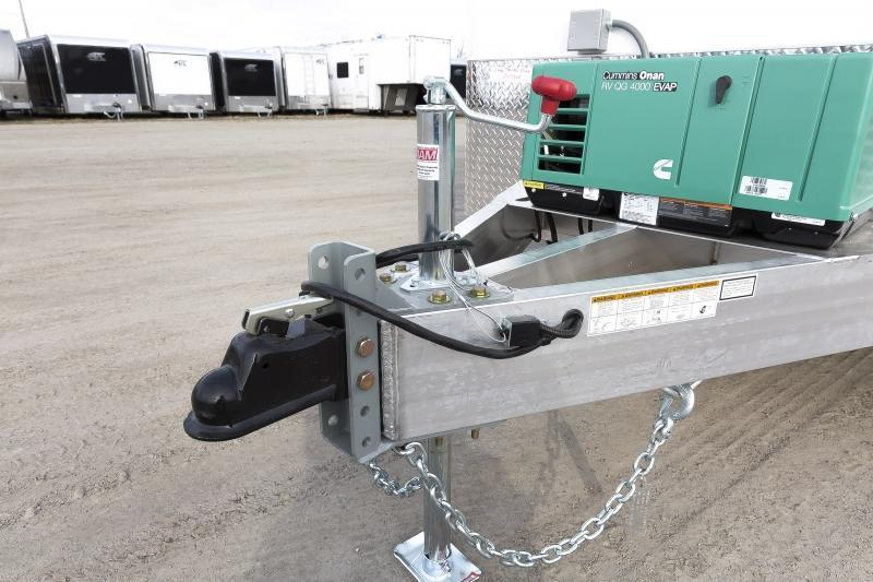 2020 7x12 ATC FIBER OPTIC SPLICING TRAILER PLUS PKG w/4.0k GENERATOR