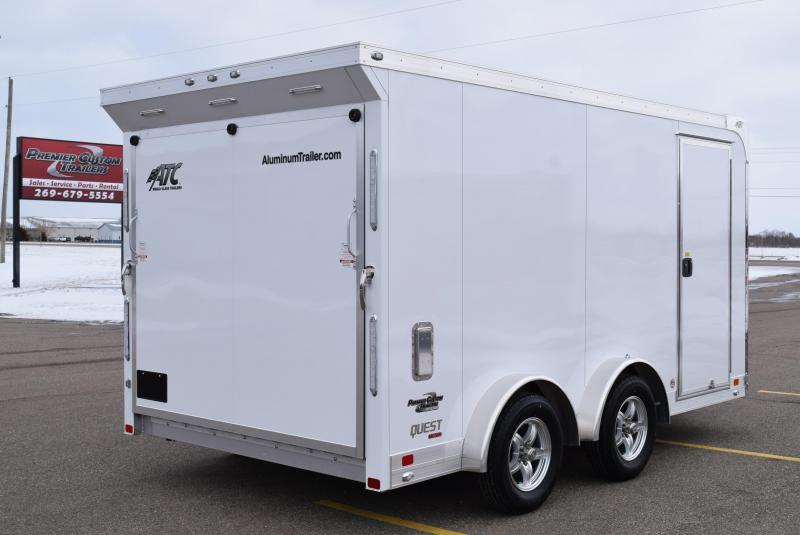 2020 ATC 7.5x14 QUEST MC300 ENCLOSED MOTORCYCLE TRAILER