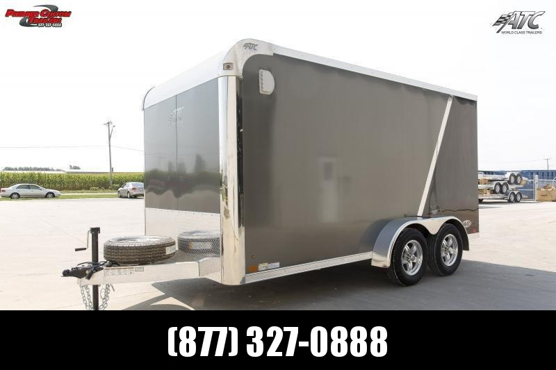 2020 ATC 7x14 RAVEN MOTORCYCLE TRAILER w/ MC PLUS PACKAGE