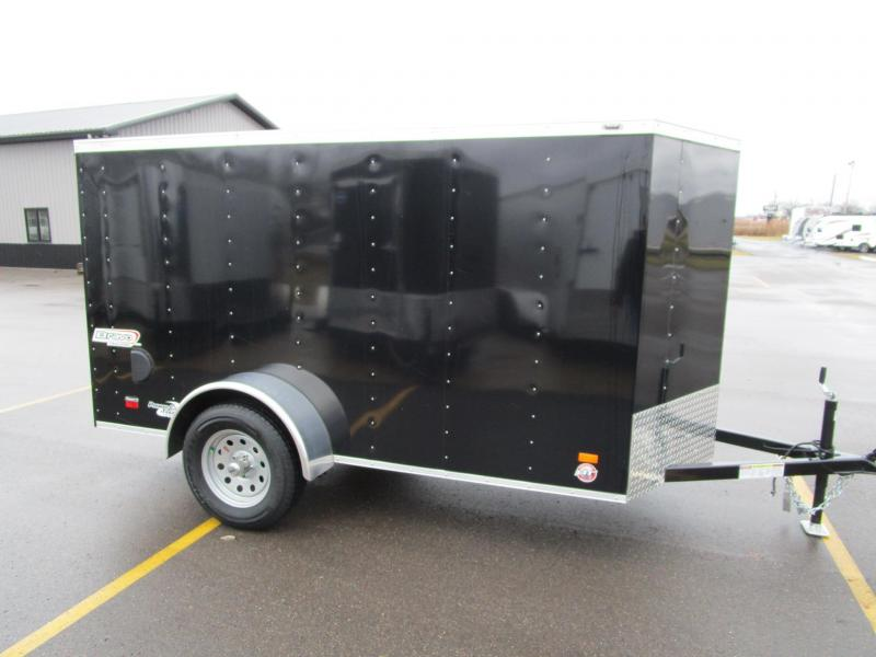 2020 BRAVO 5x10 SCOUT ENCLOSED MOTORCYCLE TRAILER