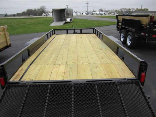 "2020 NATION 82""x16' OPEN LANDSCAPE TRAILER"