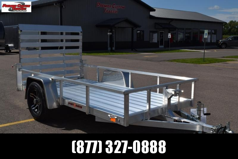 2020 SPORT HAVEN 5x10 DELUXE SERIES UTILITY TRAILER