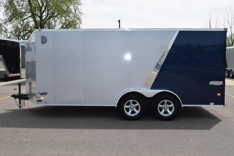 2020 BRAVO SCOUT 7x16 ENCLOSED MOTORCYCLE TRAILER