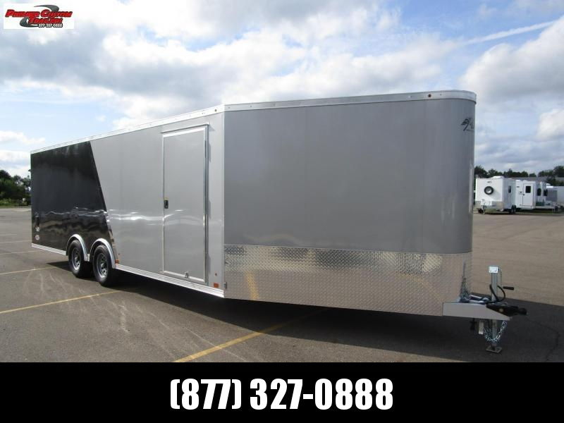 2020 ATC 28' ALLSPORT ALL ALUMINUM CAR/SNOWMOBILE HAULER