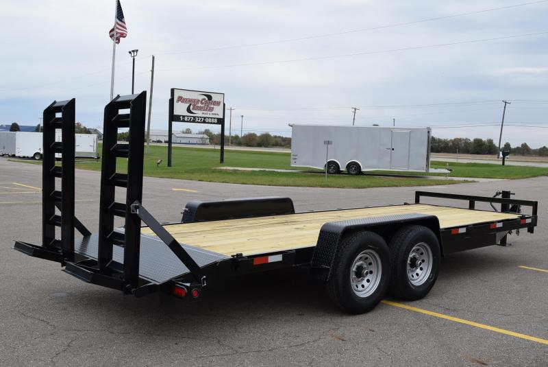 2020 GRIFFIN 20' EQUIPMENT HAULER w/14k GVW