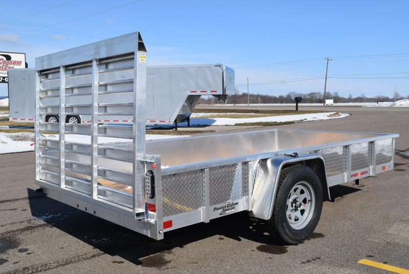 2020 SPORT HAVEN 6x12 OPEN UTILITY TRAILER w/ SIDES