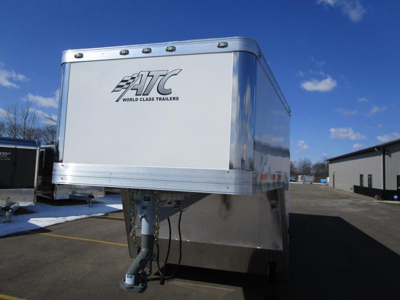 2020 ATC 38' ALL ALUMINUM GOOSENECK RACE HAULER w/CH305