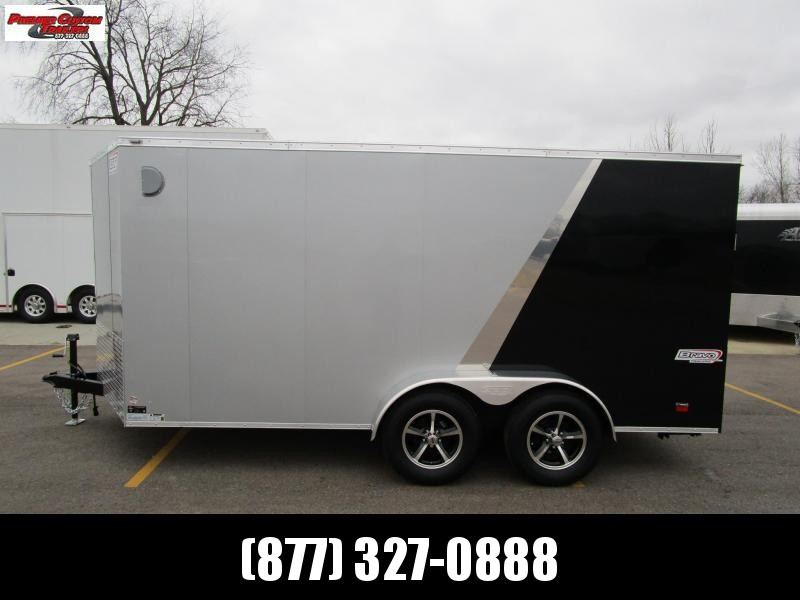 2020 BRAVO 7x14 ENCLOSED MOTORCYCLE TRAILER