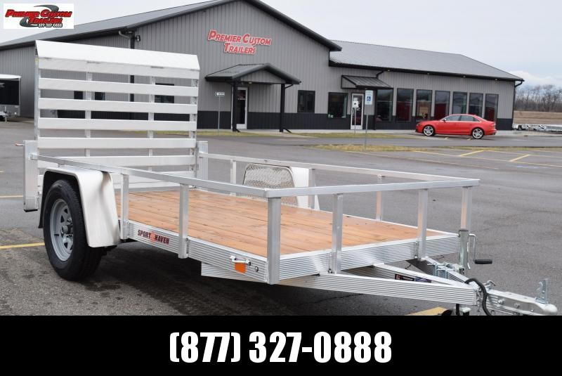 2020 SPORT HAVEN 5x10 OPEN UTILITY TRAILER