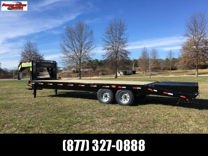 2020 GATORMADE 20+5 TANDEM 8K AXLE ELITE GOOSENECK HEAVY EQUIPMENT TRAILER