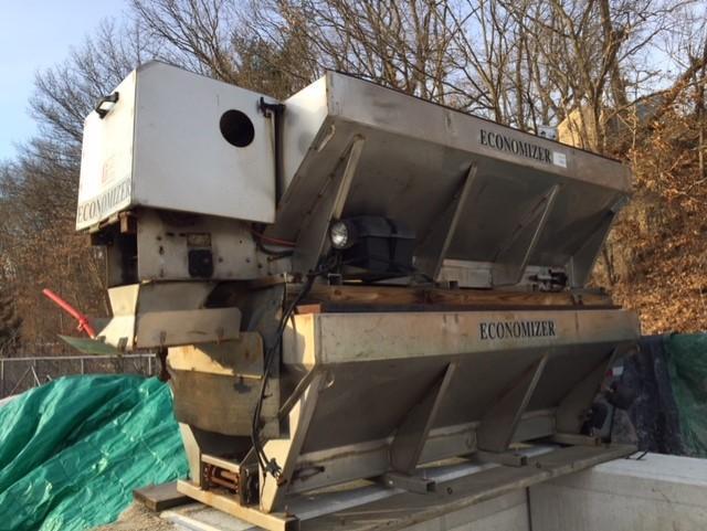 2015 Torwell Economizer 2 yard stainless steel Salt Spreader