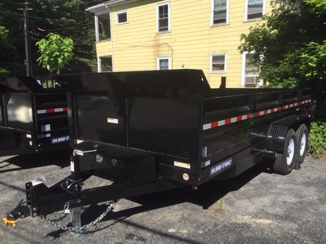 2020 Sure-Trac 7x16 dump trailer