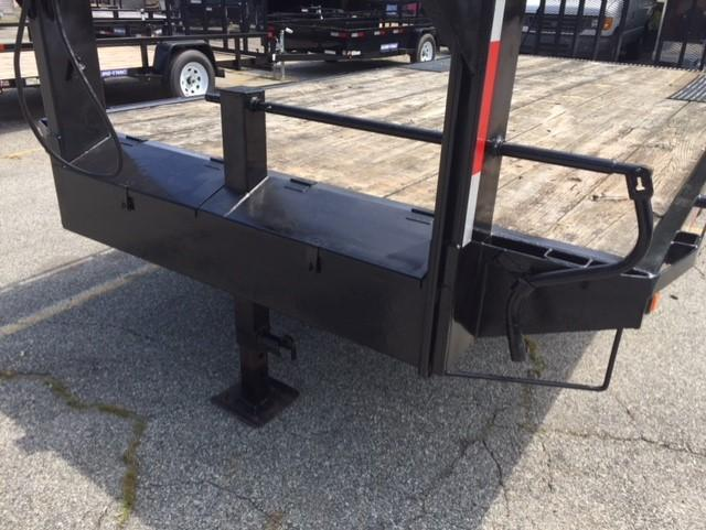 2000 Pequea 20' Gooseneck Equipment Trailer