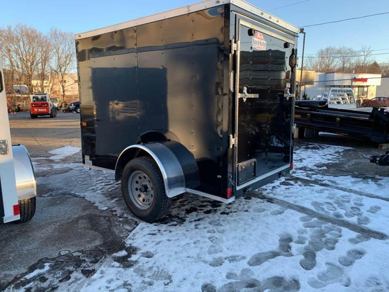 2020 Rock Solid Cargo 5x8 Enclosed Ramp Cargo Trailer Enclosed Cargo Trailer