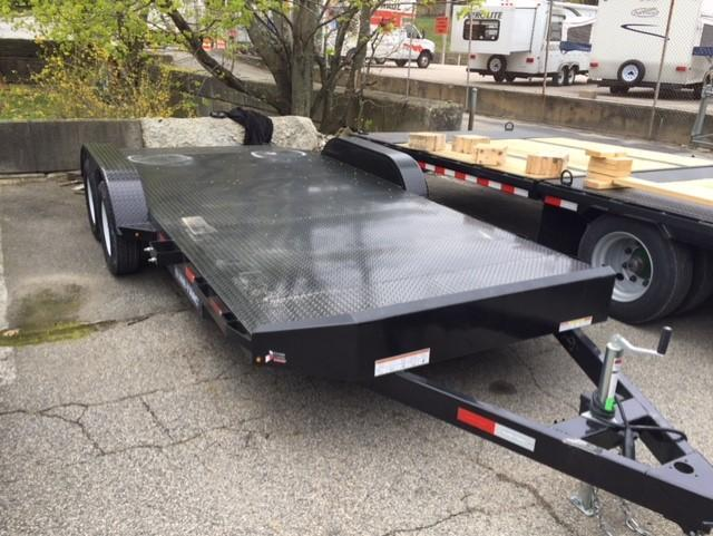 2019 Sure-Trac 7 X 18 7K Steel Deck Car Hauler Car / Racing Trailer