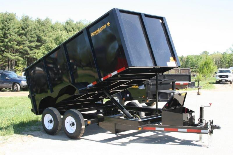 2019 Downeaster Trailers TRC612 Dump Trailer