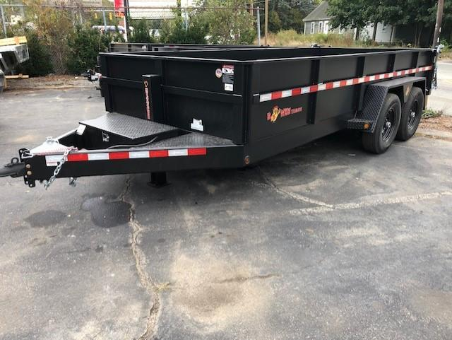 2020 B-Wise DLP16-15 Dump Trailer