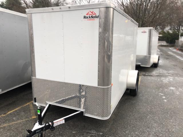2020 Rock Solid Cargo 6x12 Enclosed Cargo Trailer