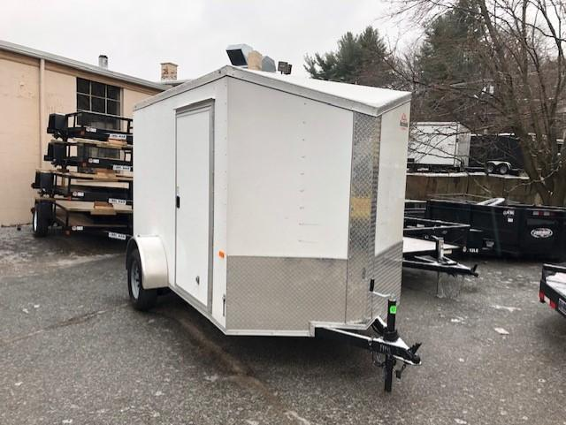 2020 Rock Solid Cargo 6x10 Enclosed Cargo Trailer