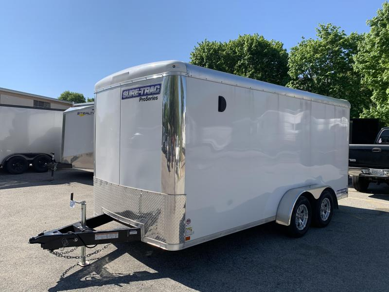 2020 Sure-Trac 7 X 16 PRO SERIES ENCLOSED TRAILER Enclosed Cargo Trailer