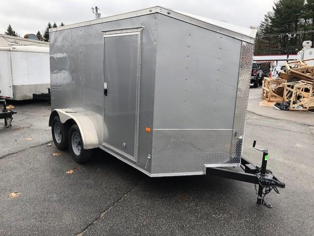 2020 Rock Solid Cargo 7x12 7K Enclosed Cargo Trailer