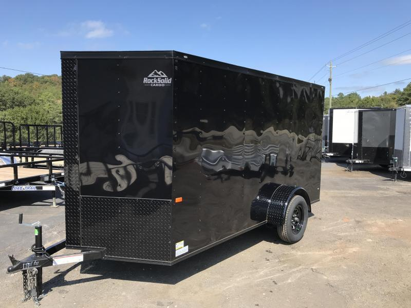 2020 Rock Solid Cargo 6X12SA Enclosed Cargo Trailer